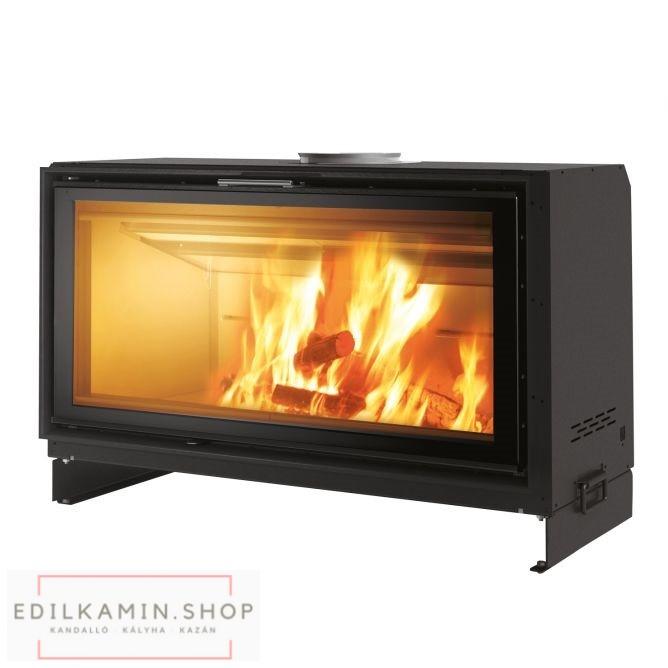 Edilkamin tűztérbetét Screen UP 100 természetes légáramlás 14,5kW / 5 ÉV GARANCIÁVAL