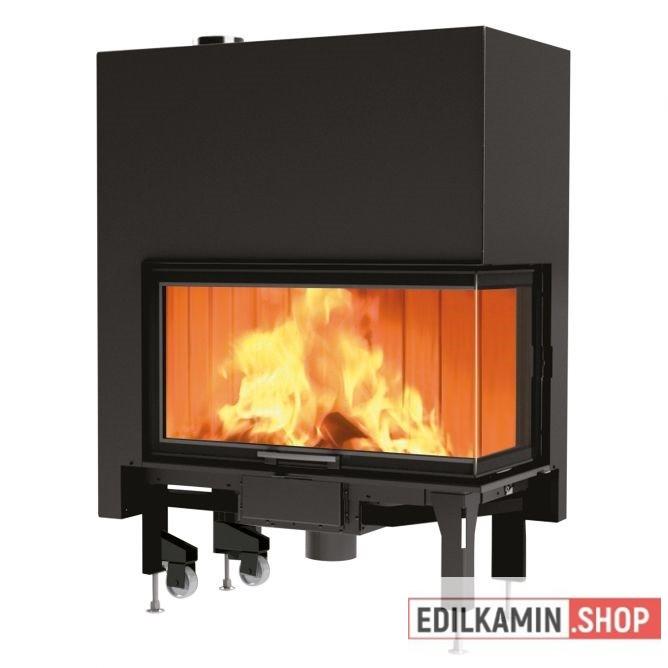 Edilkamin tűztérbetét Windo 2 95 L Bal oldali saroküvegezés