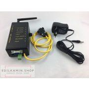 Edilkamin Wi-Fire KIT: az új app WiFire lehetővé teszi az alapfunkciók vezérlését smartphone vagy tablet készüléken