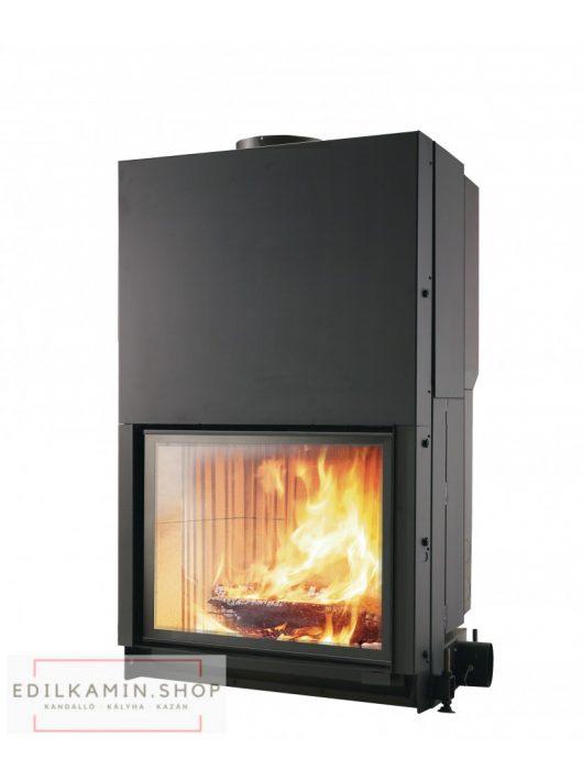 Edilkamin tűztérbetét Cristal 76 N természetes légáramlás 12kW