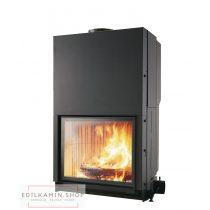 Edilkamin tűztérbetét Cristal 90 N természetes légáramlás 13kW