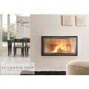 Edilkamin tűztérbetét Screen 100 N természetes légáramlás 11,5kW