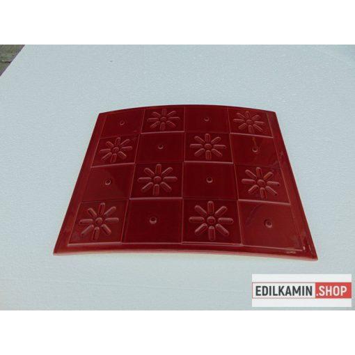 Edilkamin kerámialap bordó 355x300 Calidra