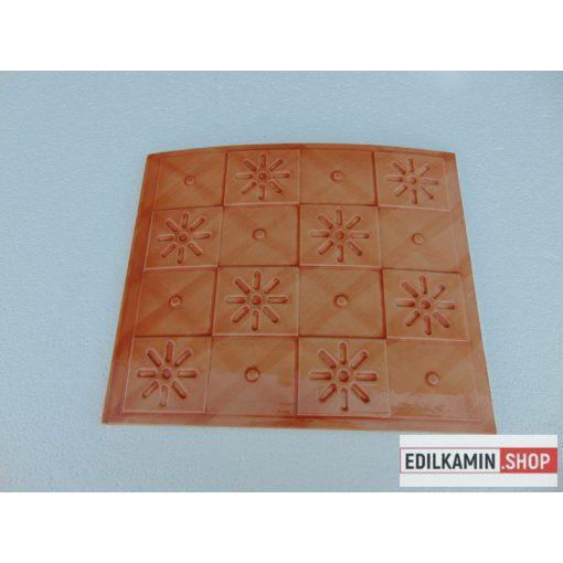 Edilkamin kerámialap terracotta 355x300 Calidra
