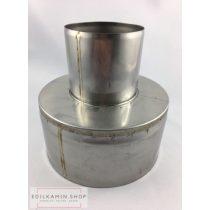 Pelletfüstcső szűkítő 80/160